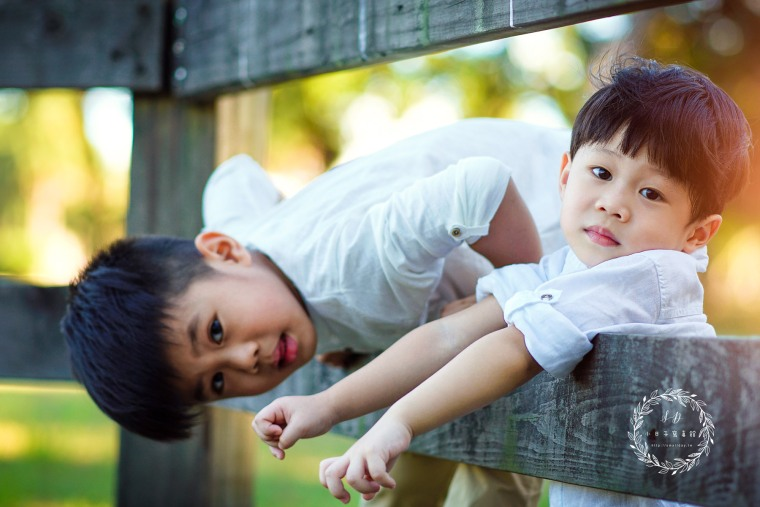 桃園新竹台北 全家福 兒童寫真 親子照 -002