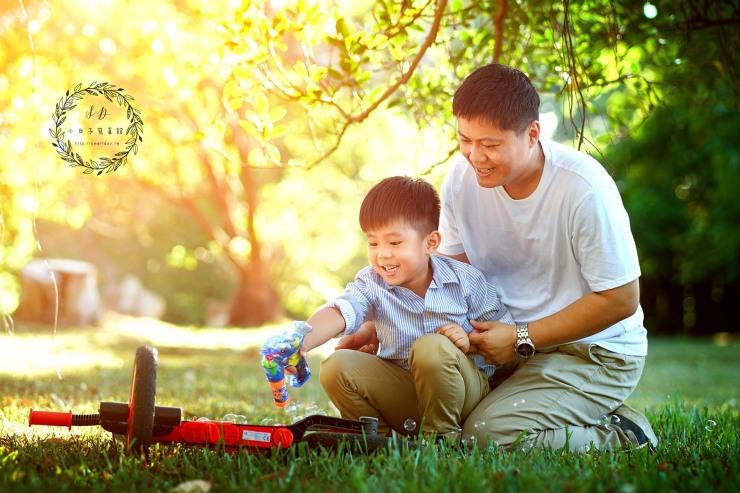 桃園新竹台北 全家福 兒童寫真 親子照 -003